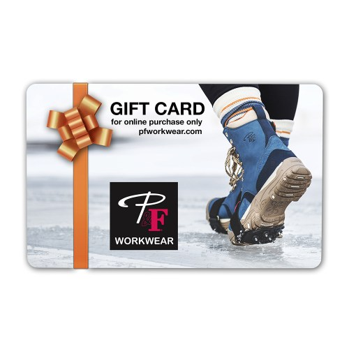 P&F Workwear Virtual Gift Card V8
