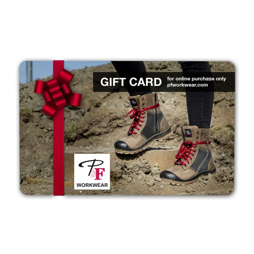 P&F Workwear Virtual Gift Card V15