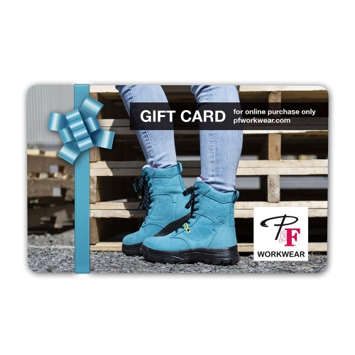 P&F Workwear Virtual Gift Card V17