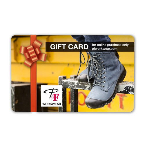 P&F Workwear Virtual Gift Card V18