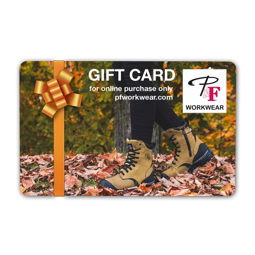 P&F Workwear Virtual Gift Card V21