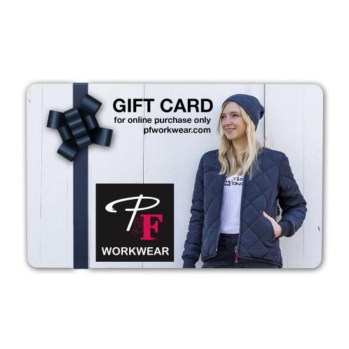 P&F Workwear Virtual Gift Card V26
