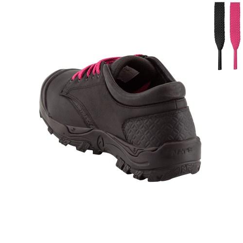 Women's steel toe safety shoes