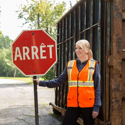 Womens hi-vis safety vest