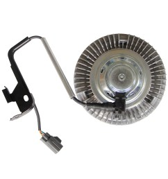 details about new engine cooling electric fan clutch for 04 09 dodge ram 2500 5 9l 6 7l [ 1500 x 1500 Pixel ]