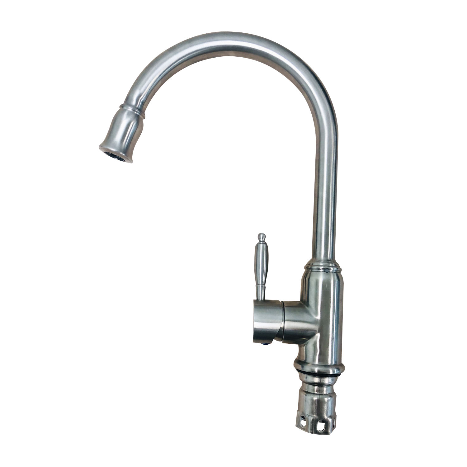 Kitchen Faucet Stainless Steel Single Handle Mixer Tap