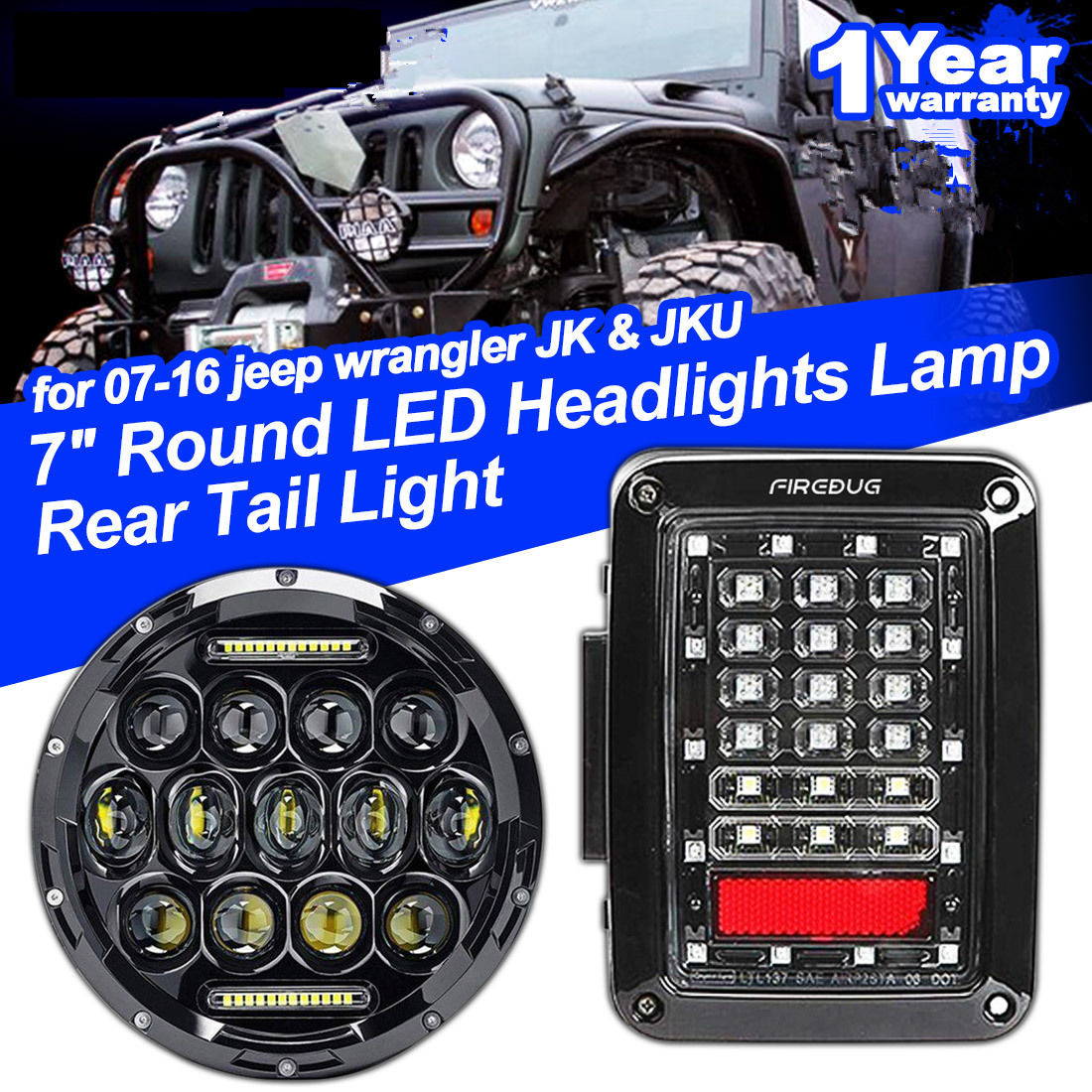 hight resolution of  led rugged tail light for jeep wrangler jk 20072016 t on 1997 jeep wrangler engine diagram 97 wrangler wiring