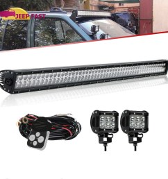 details about 99 04 for jeep grand cherokee wj 4wd 2wd dot 50inch led light bar wiring kit [ 1000 x 1000 Pixel ]