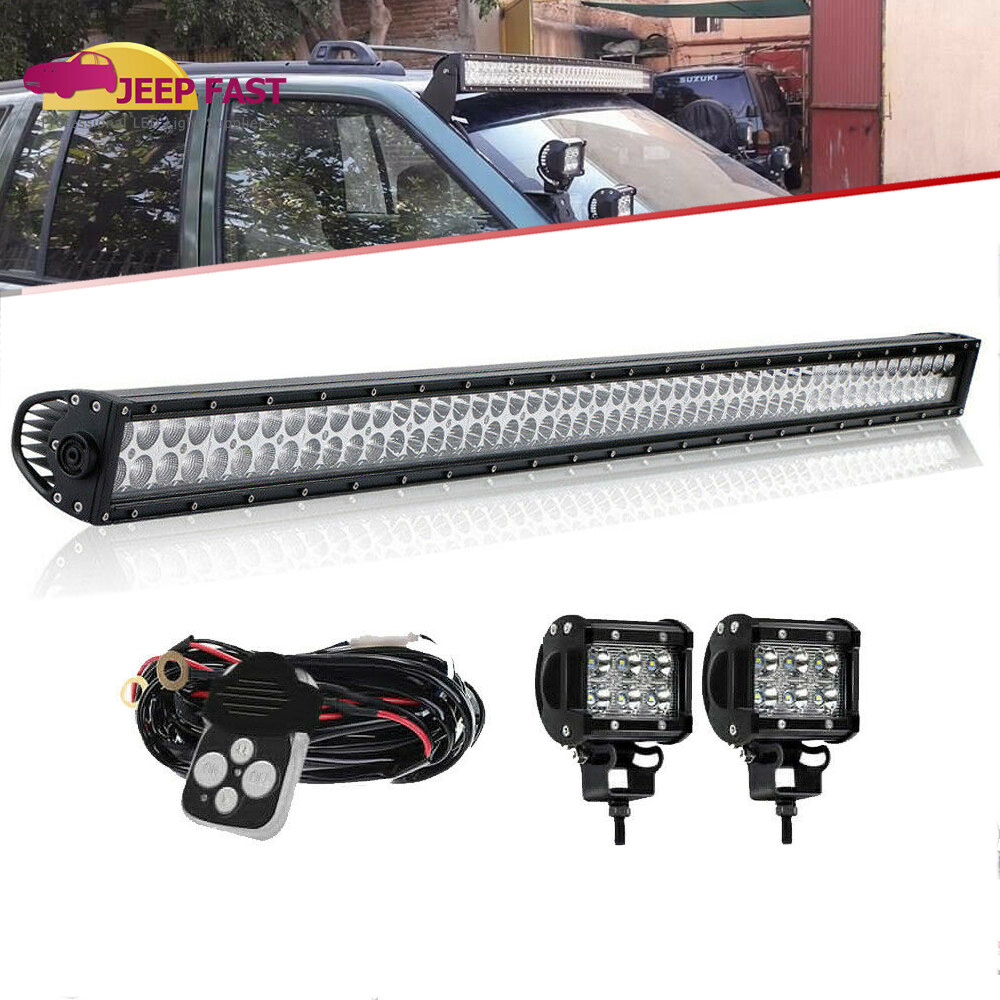 hight resolution of details about 99 04 for jeep grand cherokee wj 4wd 2wd dot 50inch led light bar wiring kit