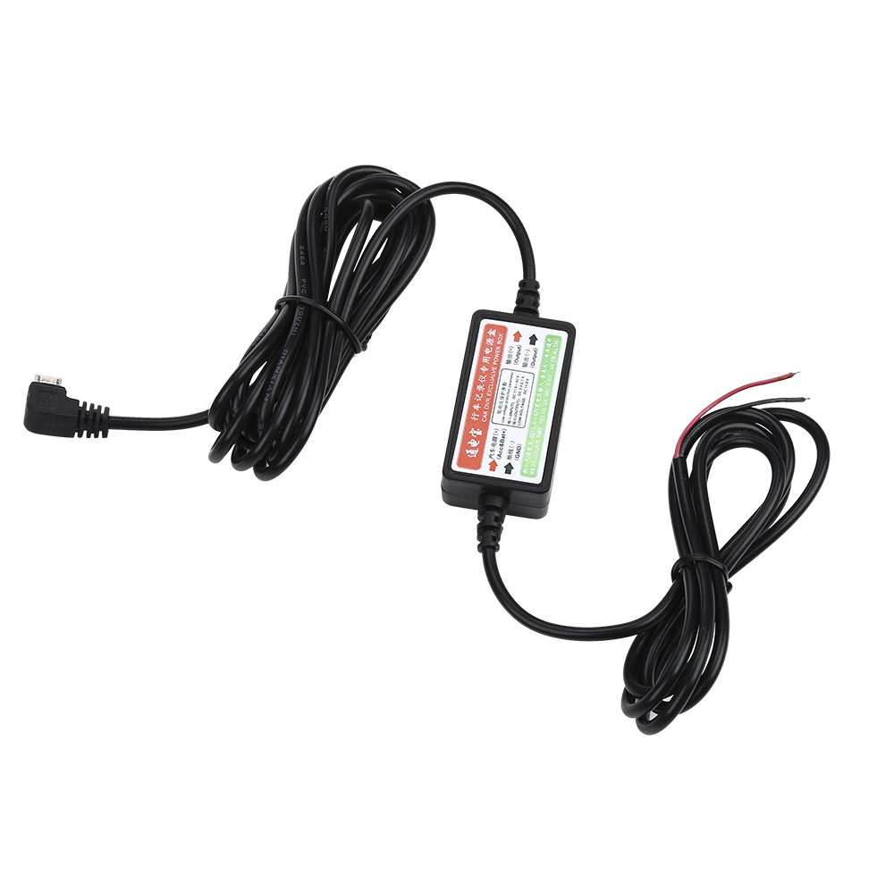 Hard Wire Kit 12V to 5V Adapter Micro USB for Mini 1 2 Car