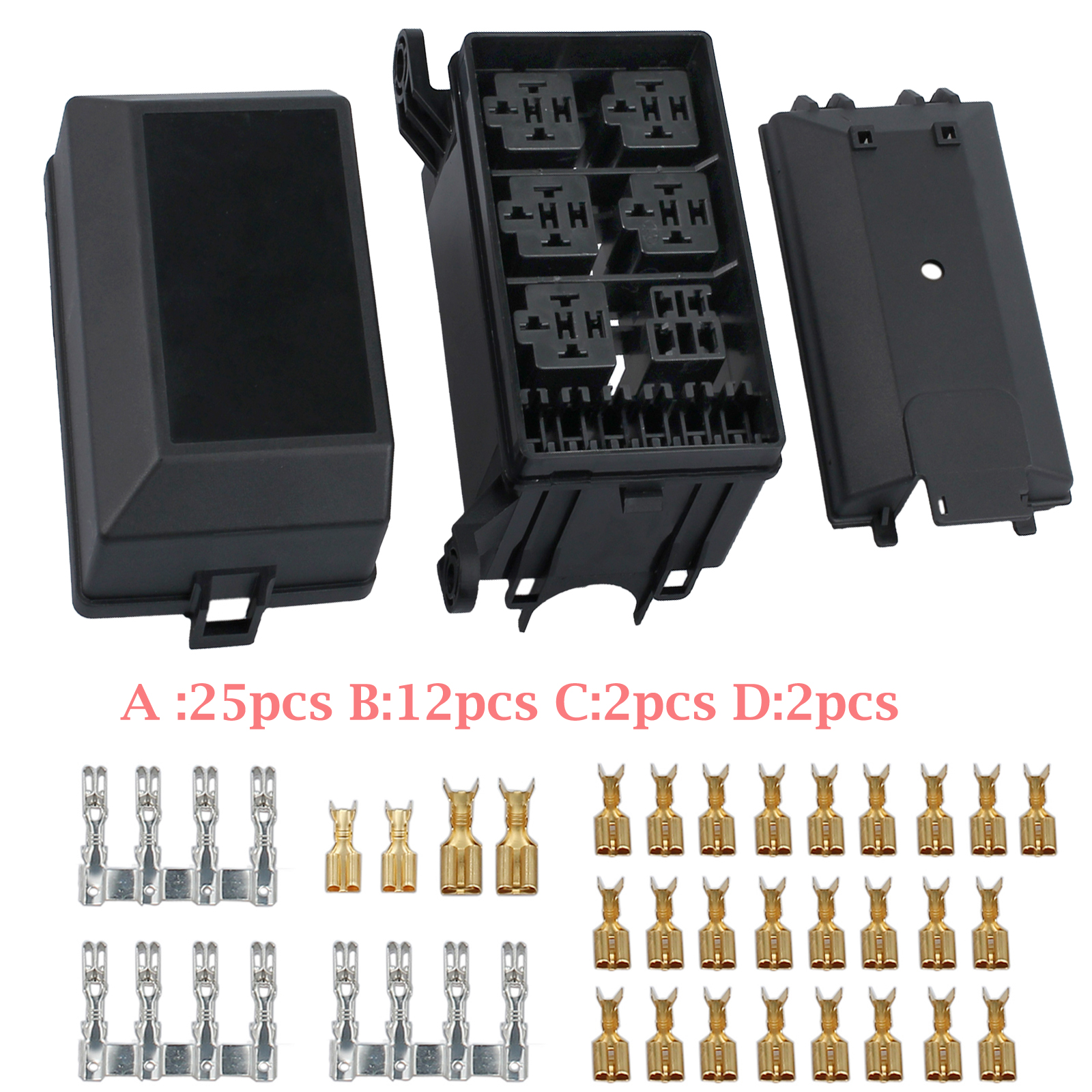 hight resolution of auto car fuse relay holder box relay socket the nacelle insurance 6 relay 5 road