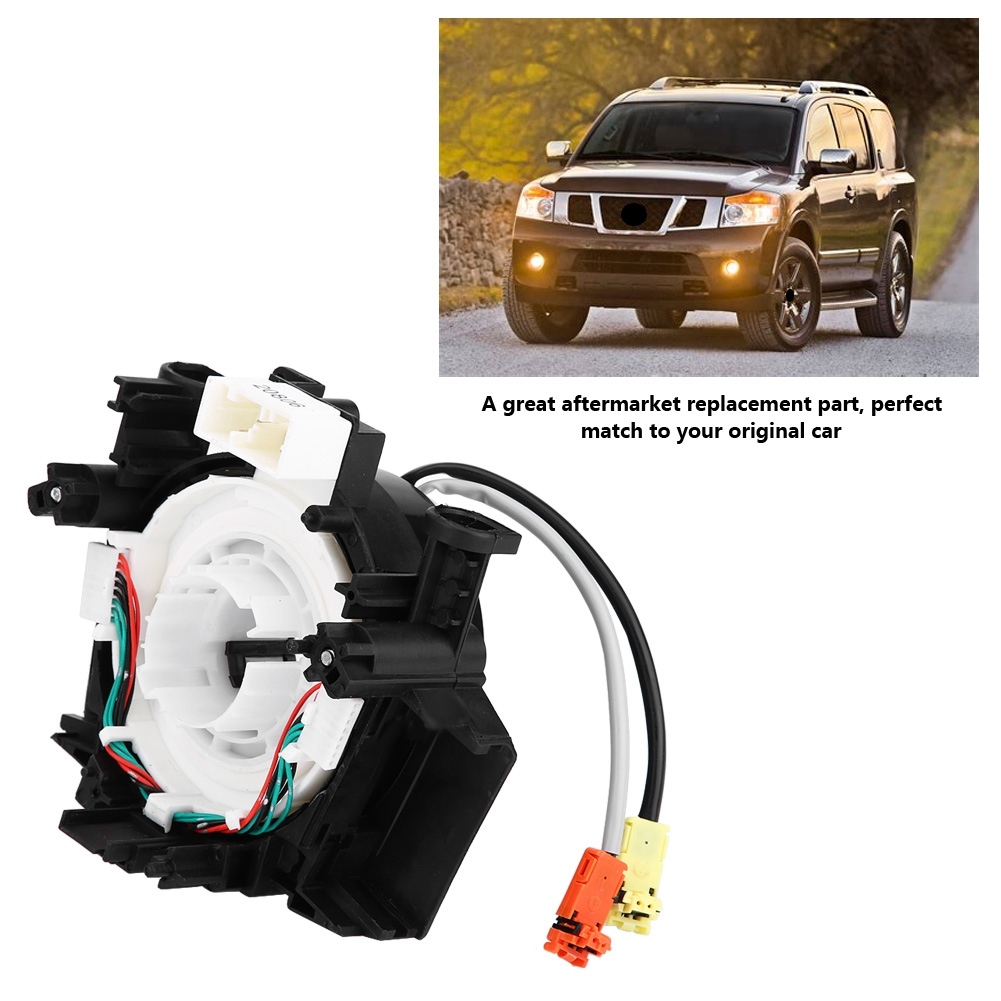 hight resolution of 25560 9ga5a clock spring air bag spiral cable 2 wires for nissan armada 08 15