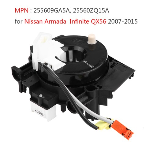 small resolution of details about clock spring spiral cable 255609ga5a for nissan armada infiniti qx56 5 6l 07 15
