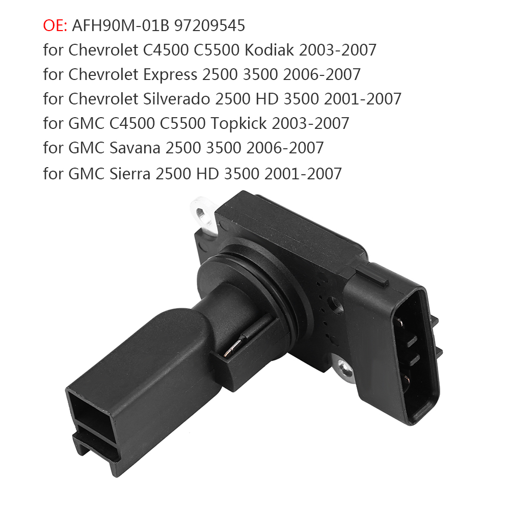 hight resolution of details about maf mass air flow sensor afh90m 01b for 2001 2007 gmc chevy 2500 3500 4500 5500