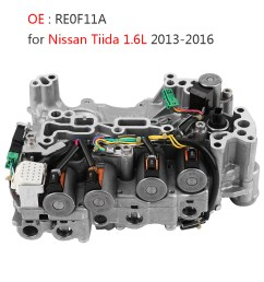 details about cvt automatic transmission valve body re0f11a jf015e for nissan tiida 2013 16 [ 1001 x 1001 Pixel ]
