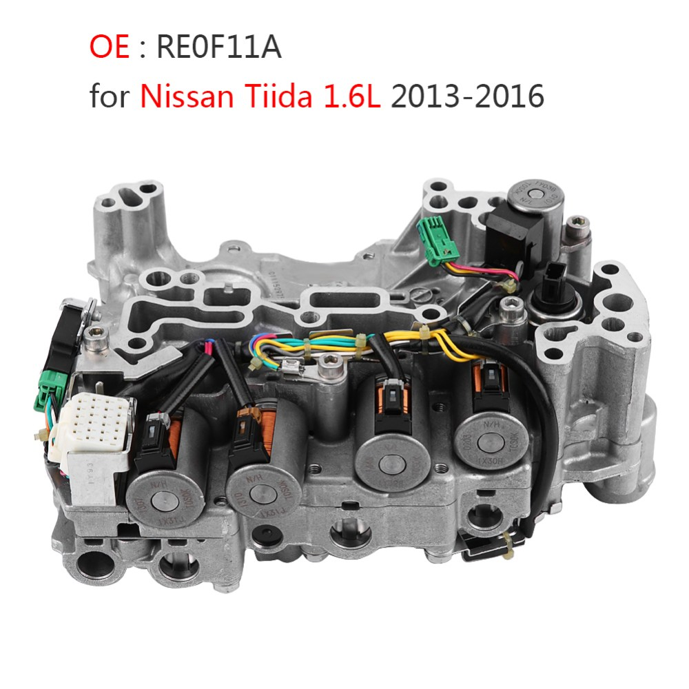 medium resolution of details about cvt automatic transmission valve body re0f11a jf015e for nissan tiida 2013 16