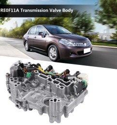 cvt automatic transmission valve body re0f11a jf015e for nissan tiida 2013 16 [ 1001 x 1001 Pixel ]