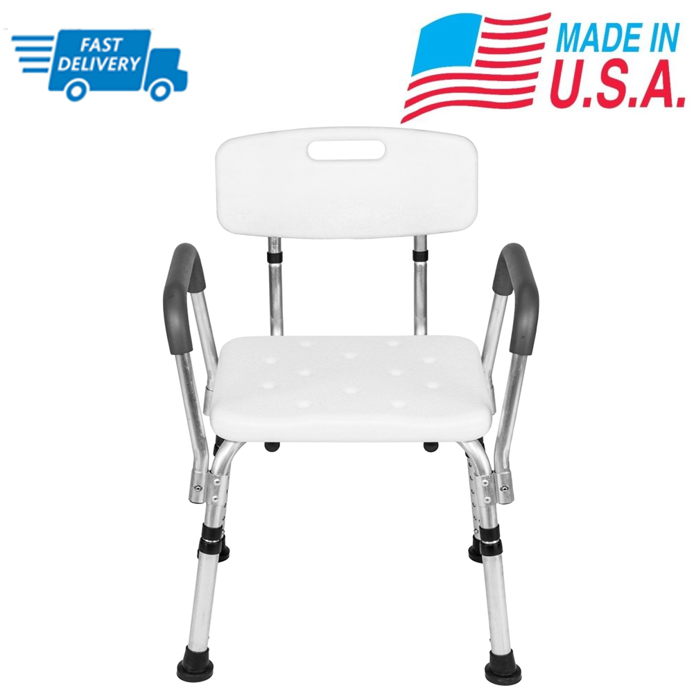 united chair medical stool target mat stable shower bath adjustable bench seat with back and arm