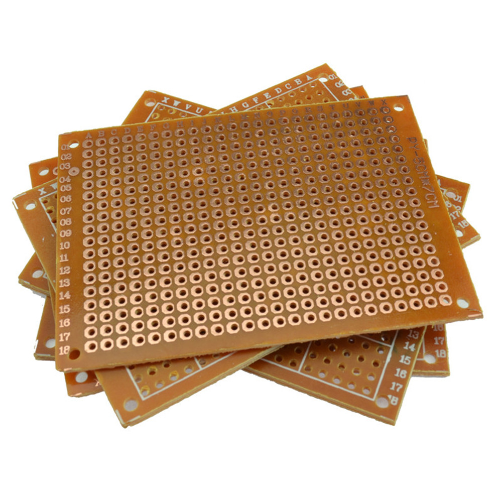 Prototype Pcb For 5x7cm Circuit Board Breadboard Diy B54u Ebay