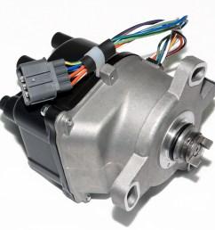 new ignition distributor for honda crv cr v 2 0l dohc compatible with td 74u description new ignition distributor for honda crv  [ 1600 x 1600 Pixel ]