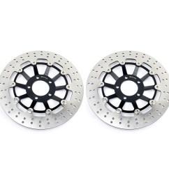 front brake discs rotors gsxr 750 limited edition 88 95 89 90 91 gsx 1991 suzuki gsxr 750 90 91 ebay on 91 suzuki gsxr 750 clutch diagram [ 1600 x 1600 Pixel ]