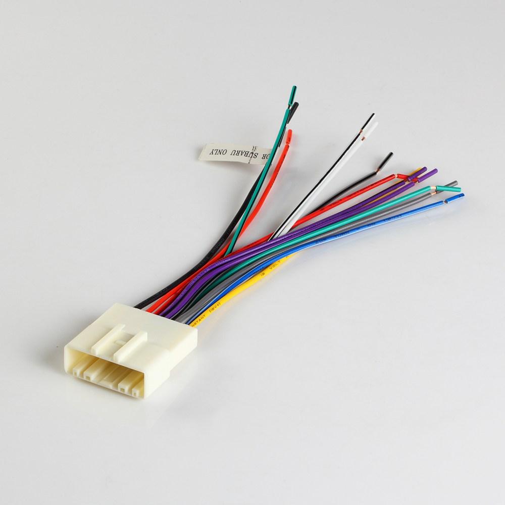 medium resolution of details about metra 70 7552 07 up fits nissan subaru wiring harness plugs aftermarket radio