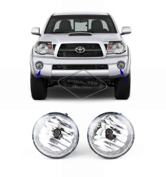 for 2005 2006 2007 2008 2009 2010 2011 toyota tacoma fog lights fog light wiring 06 tacoma 4 cyl extended cab [ 2000 x 2000 Pixel ]