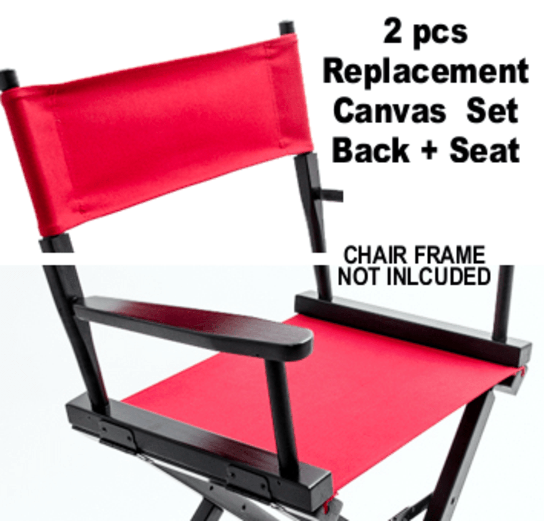 Gold Medal Director Chair Replacement Canvas Set Chair