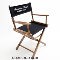 Personalized Makeup Chair Folding Saucer Moon Directors Chairs Teamlogo Com Custom Imprint And Embroidery Imprinted Table Height 18 Inch Gold Medal