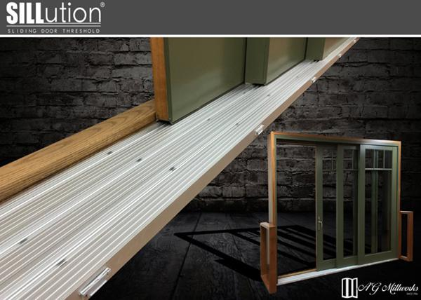 our newest sliding door threshold