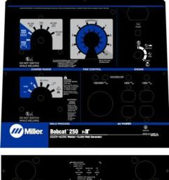 miller bobcat welder manual [ 1000 x 1181 Pixel ]