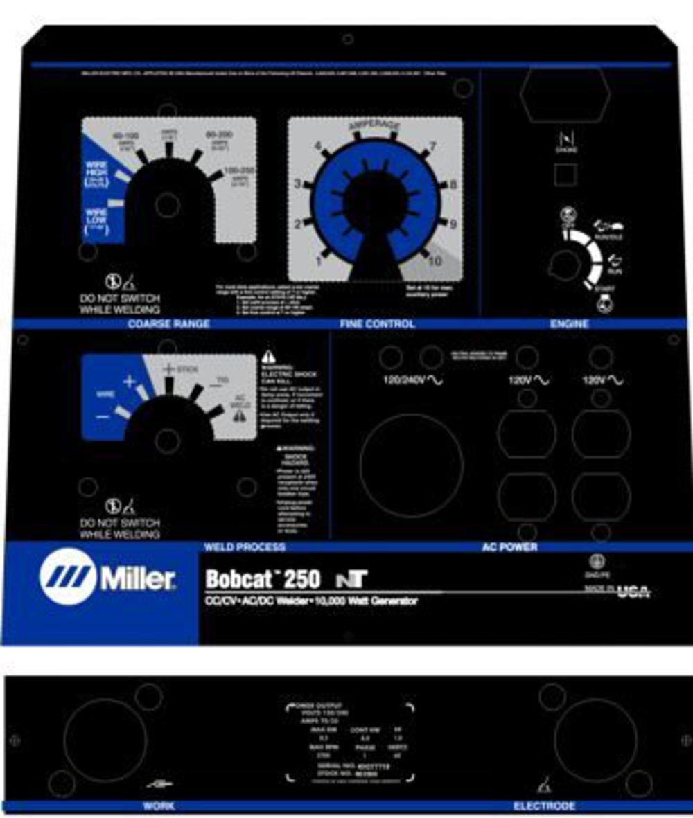medium resolution of miller bobcat welder manual