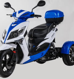2018 50cc ice bear mojo magic three wheel trike scooter [ 1080 x 1001 Pixel ]