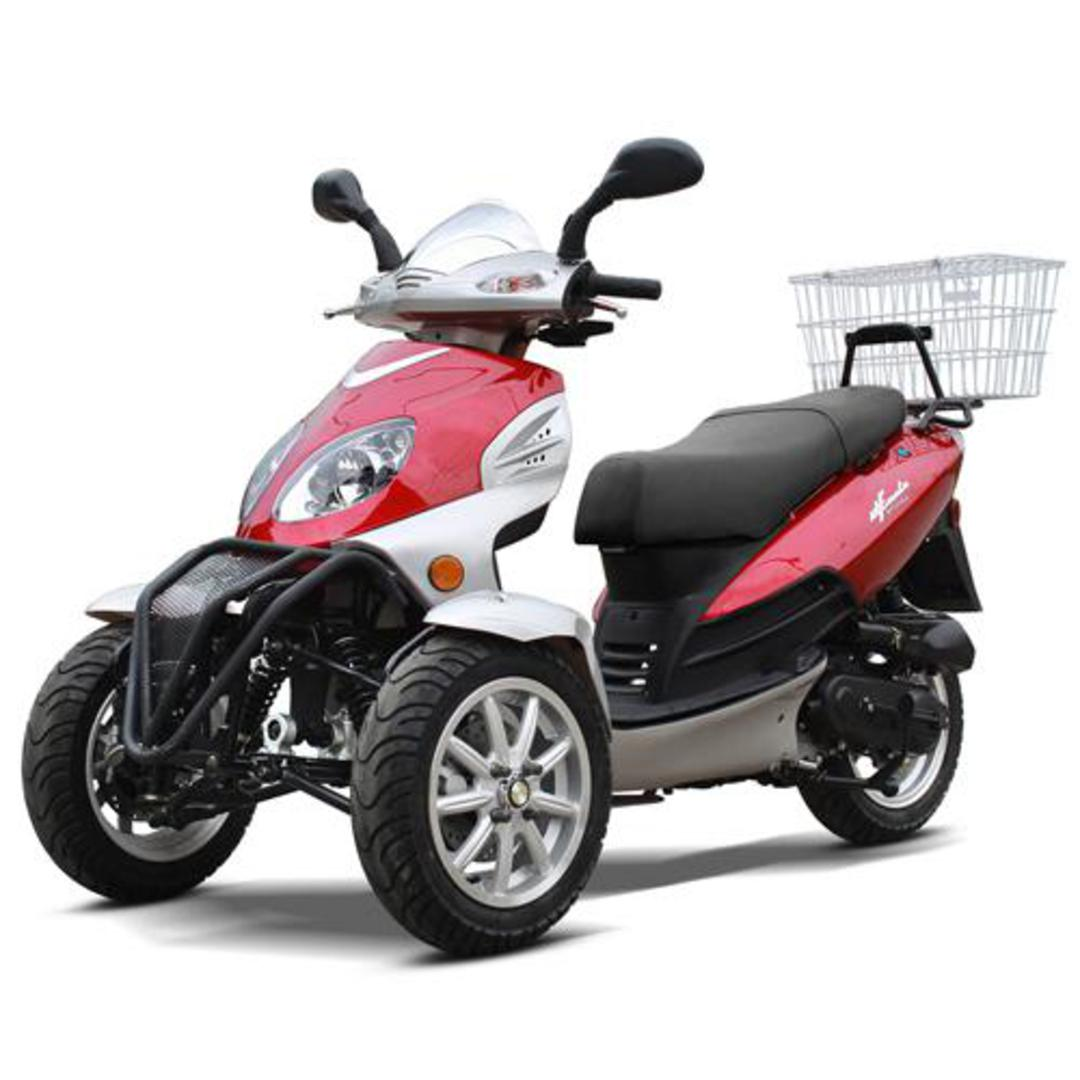 hight resolution of zummer 50cc gas motor scooter automatic pre assembeld