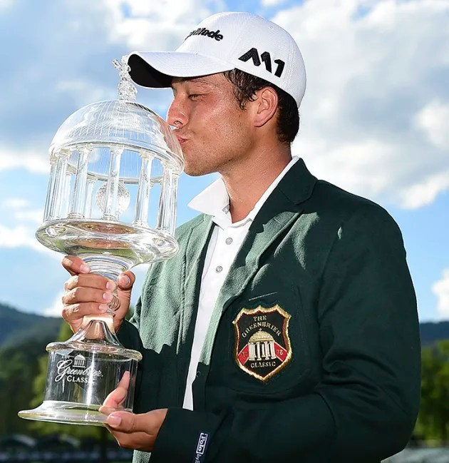 Schauffele wins The Greenbrier Classic