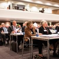De synode nam donderdagavond de handreiking sociale media unaniem aan, Foto Jan Klein