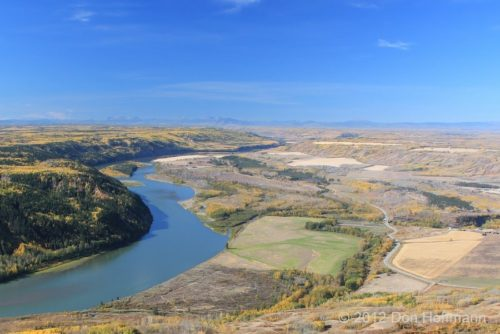 Peace River Valley. Photo by Donald Huffman/Peace Valley Environmental Association
