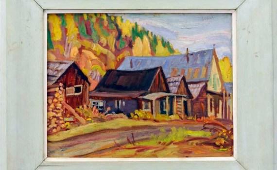 "A. Y. Jackson's ""Barkerville, B.C."" – photo by Heffel Fine Art Auction House"