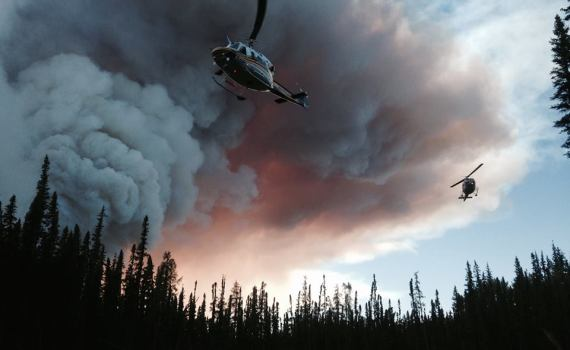 BC Wildfire Service photo