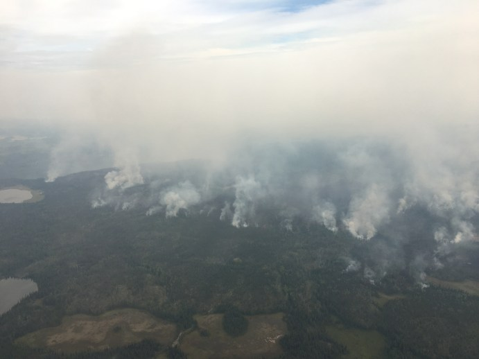 The Plateau fire in the Chilcotin. B.C. Wildfire Service photo