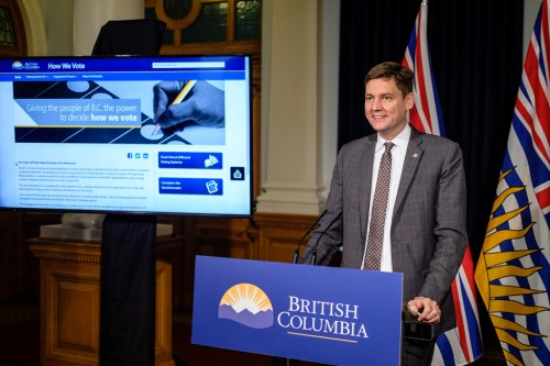 Attorney General David Eby. Province of B.C. photo