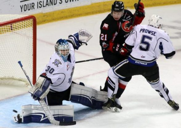 The rest did the Prince George Cougars some good. Coming out of their week-long Christmas break, the Cougars gutted out a 5-3 win over the Victoria Royals Wednesday, at Save on Foods Memorial Centre. Cougars photo
