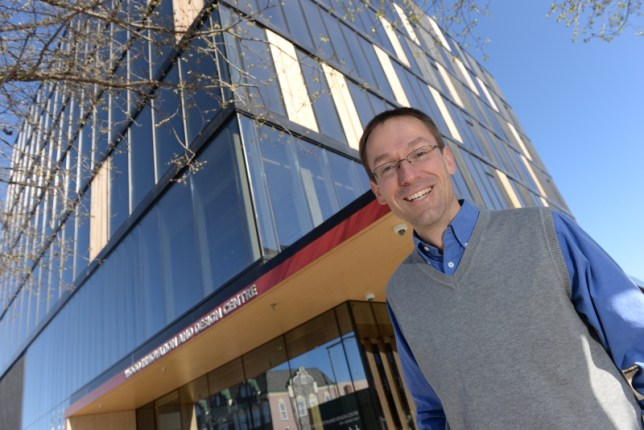 Dr. Thomas Tannert is the latest UNBC researcher to be named a Canada Research Chair. UNBC photo