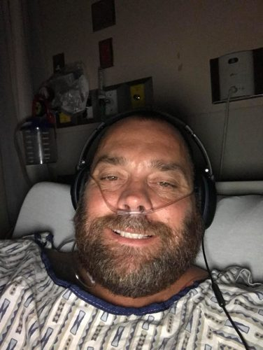 Cariboo-Prince George MP Todd Doherty in hospital after surgery to remove his gall bladder. Facebook photo