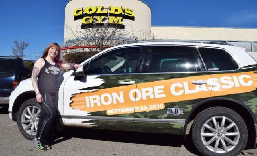 Iron Ore Classic organizer Karley Green unveils selfie contest for the annual bodybuilding competition. Bill Phillips photo
