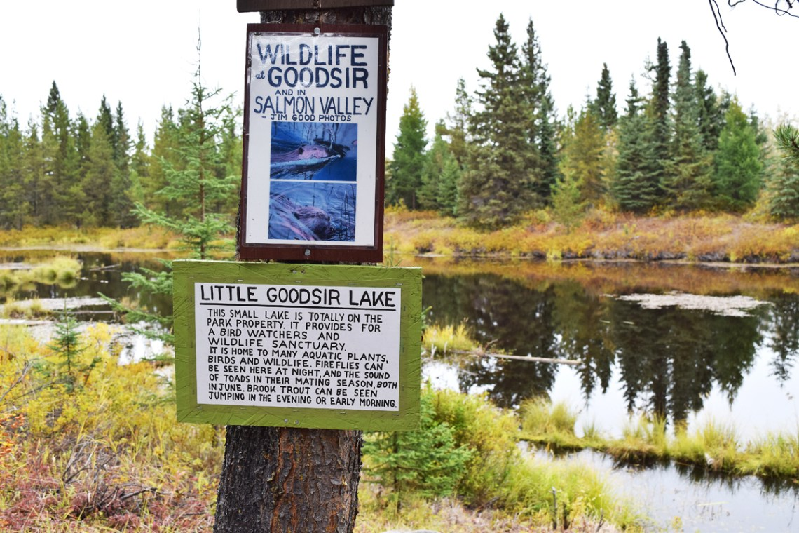 Little Goodsir Lake.