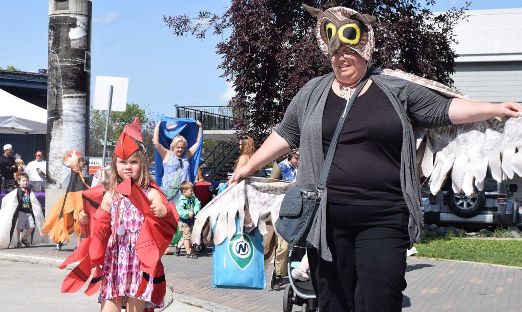 BMO KidzArtDayz are underway at Canada Games Plaza. Bill Phillips photo