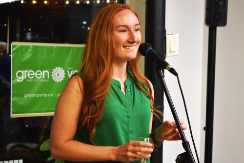 Mackenzie Kerr running for Greens in Prince George-Valemount