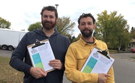 If you see these guys out and about, get ready to learn about the upcoming proportional representation referendum. They are members of the Prince George chapter of Fair Vote BC and last week were at CNC and in Mackenzie giving presentations on the three new voting systems British Columbians will be asked to vote on. They have also been putting flyers in mailboxes and will be canvassing door to door this week. On Wednesday, October 3 at 7:30 p.m. they will have an information session at the Keith Gordon Room at the Prince George Public Library.