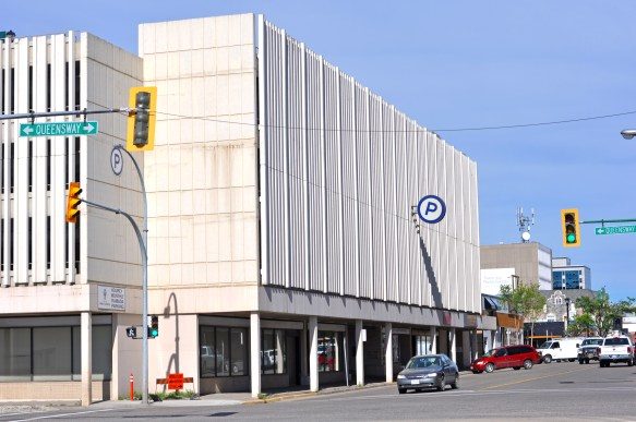 The city is seeking artists to submit designs for a mural to be located on the northeast alcove of the Plaza Parkade at Fifth Avenue and Queensway Street. City of Prince George photo